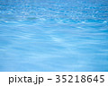 水面 紋様 波の写真 35218645