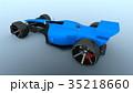 レーシングカー 乗り物 車のイラスト 35218660