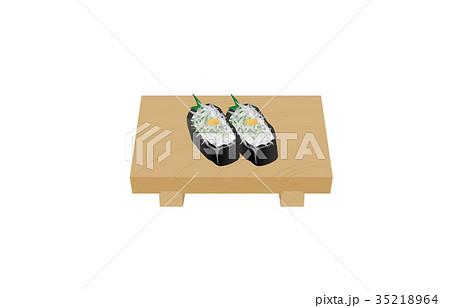 寿司いろいろしらす軍艦 35218964