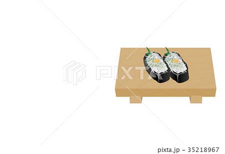 寿司いろいろしらす軍艦 35218967