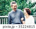 人物 笑顔 夫婦の写真 35224815