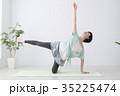 女性 ヨガ フィットネスの写真 35225474
