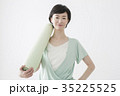 女性 ヨガ フィットネスの写真 35225525