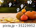 ハロウィン ハロウィーン かぼちゃの写真 35229952