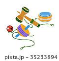 日本の昔の玩具 35233894