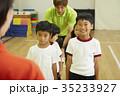 体操教室 指導 整列する子供たち 35233927
