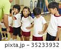 体操教室 指導 整列する子供たち 35233932