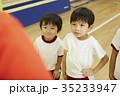 体操教室 指導 整列する子供たち 35233947