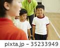 体操教室 指導 整列する子供たち 35233949