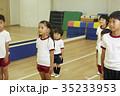 体操教室 指導 整列する子供たち 35233953