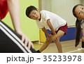 体操教室 指導 キッズ 準備体操 35233978