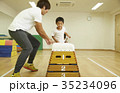 体操教室 指導 跳び箱 子供 35234096