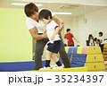体操教室 平均台 バランス キッズ 35234397