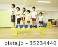 体操教室 子供 指導 平均台 35234440