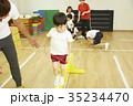 体操教室 平均台 バランス キッズ 35234470