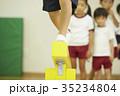体操教室 子供 指導 平均台 35234804