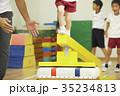 体操教室 子供 指導 平均台 35234813