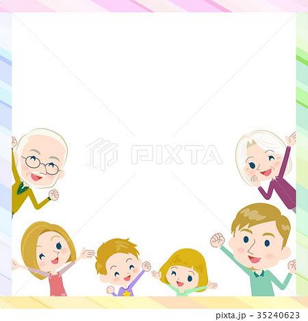 3 Generations Internet Whiteside By Sideのイラスト素材 35240623