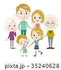ファミリー 家庭 家族のイラスト 35240628