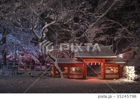 貴船神社 雪 35245796