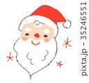 サンタクロース クリスマス サンタのイラスト 35246551