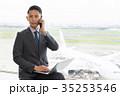 ビジネスマン 空港 オフィス ビジネス イメージ 35253546