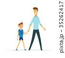 ベクトル 人々 人物のイラスト 35262417