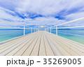 フサキビーチ 海 フサキエンジェルピアの写真 35269005