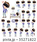 男 VR バーチャルリアリティのイラスト 35271822