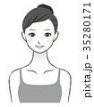 女性 若い 美容のイラスト 35280171