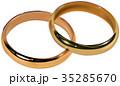 祝儀 ブライダルリング 結婚指輪のイラスト 35285670