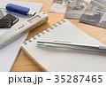 証拠品 記者の小道具 メモ 探偵 物的証拠 犯罪 調査 35287465
