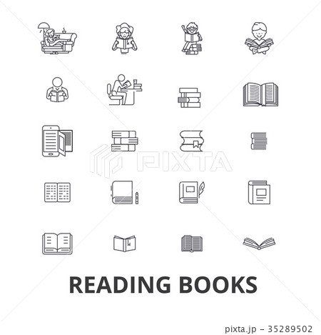 Books, open book, stack of books, bookshelf 35289502