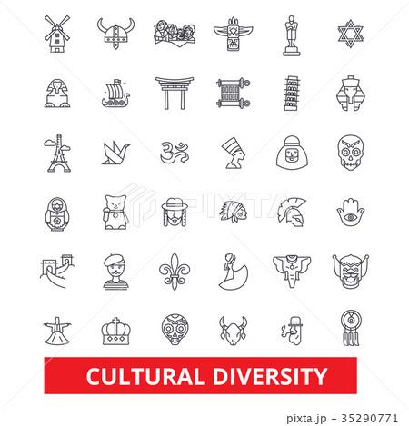 Cultural diversity, international, enthnic 35290771