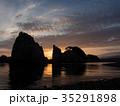 浄土ヶ浜からの日の出 35291898
