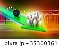 Bowling ball target concept 35300361
