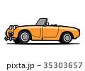 ベクター 車 自動車のイラスト 35303657
