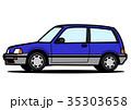 ベクター ハッチバック 自動車のイラスト 35303658