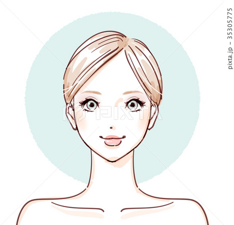 beauty woman_After make up 35305775