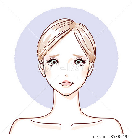 beauty woman_After make up negative 35306592