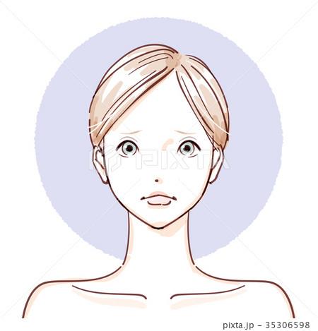 beauty woman_non make up negative 35306598