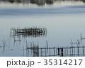 印旛沼 湖沼 沼の写真 35314217