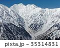 北アルプス・爺ヶ岳の登りから見る針ノ木岳 35314831