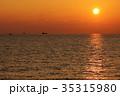 夕焼け 海 夕日の写真 35315980