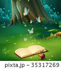 樹木 樹 ツリーのイラスト 35317269