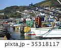 鴨川漁港 漁船 港の写真 35318117