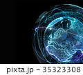 ネットワーク 通信 抽象のイラスト 35323308
