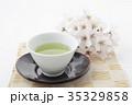 緑茶一客漆茶托横位置 35329858