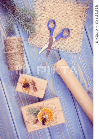 Accessories, decoration and wrapped giftsの写真素材 [35331316] - PIXTA