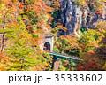 【宮城県】鳴子峡の紅葉 35333602